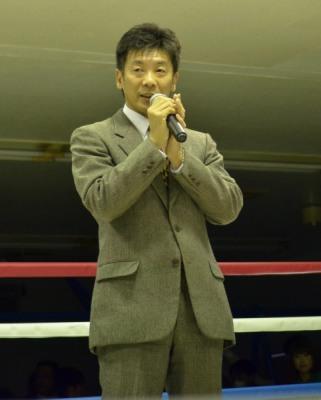 小坂裕巳会長(ボクシングニュース)