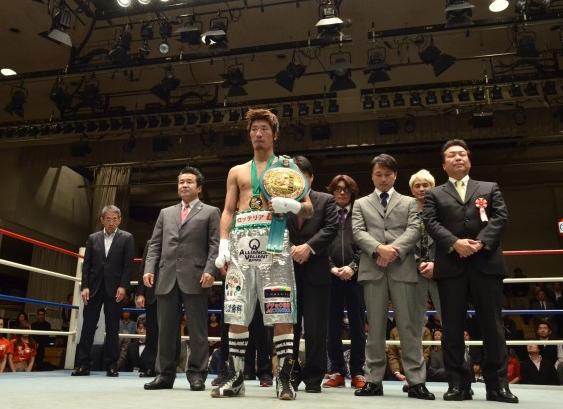 佐藤洋太引退式(ボクシングニュース)