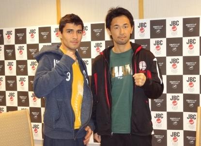 山中慎介とゲバラ(ボクシングニュース)
