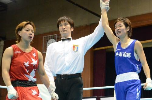 全日本女子選手権、フライ級は釘宮が優勝(ボクシングニュース)