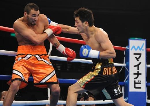 村田プロ第2戦(ボクシングニュース)