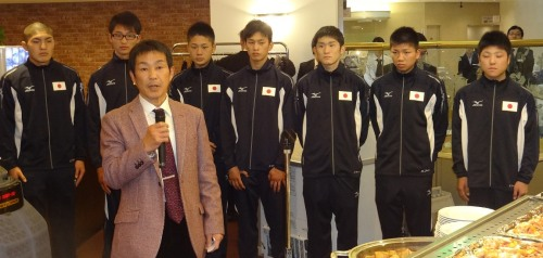 タイのアジア・ユース大会出場7選手の壮行会(ボクシングニュース)