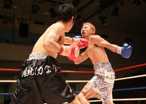 大平が新王者に、日本ミニマム級(ボクシングニュース)