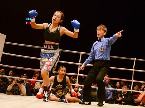 好川奈々がOPBF女子タイトル獲得(ボクシングニュース)
