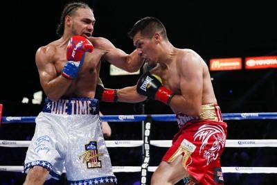 サーマン、ディアスに負傷TKO勝ち(ボクシングニュース)