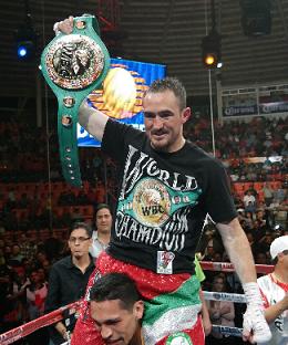 ルビオがスパダを10回KO、WBAミドル級暫定戦(ボクシングニュース)
