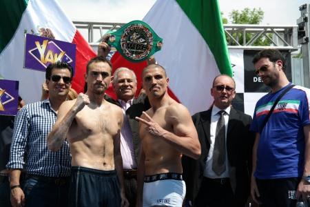 ルビオvsスパダ、明日WBCミドル級暫定戦(ボクシングニュース)