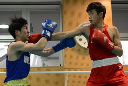 清水がライト級で出場、アジア大会代表決まる(ボクシングニュース)