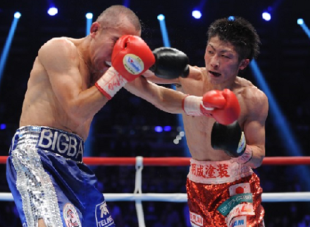 井上、日本最短の6戦目で世界タイトル獲得(ボクシングニュース)