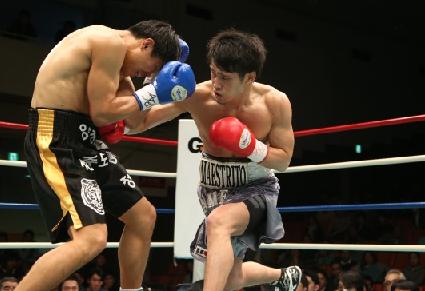 亀海がKO初防衛、OPBFウェルター級戦(ボクシングニュース)