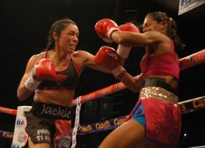 女子世界戦ダウン欧州、ナバがタイトル獲得(ボクシングニュース)