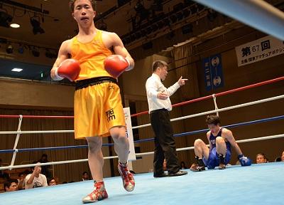 強豪対決、日大が農大制す 関東大学リーグ戦(ボクシングニュース)