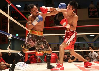 江藤光が大逆転KOでOPBFタイトル獲得(ボクシングニュース)