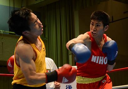 不敗対決を日大が制す。関東大学リーグ戦(ボクシングニュース)