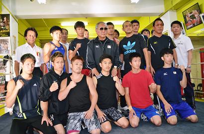 アジア大会日本代表が井岡ジム勢とスパー(ボクシングニュース)