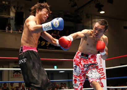 益田健太郎が日本バンタム級初防衛(ボクシングニュース)