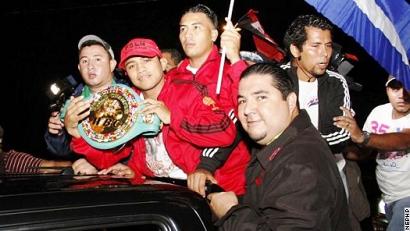 ロマゴンがニカラグアに凱旋(ボクシングニュース)