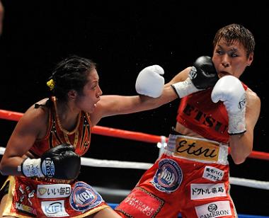 多田悦子がメキシコで世界挑戦(ボクシングニュース)