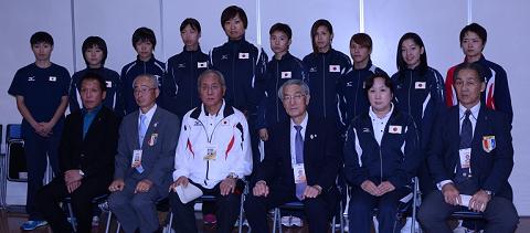 女子も国体競技に、しずちゃんら長崎でPR(ボクシングニュース)