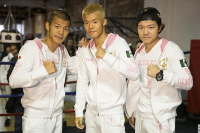 亀田和毅が公開練習(ボクシングニュース)