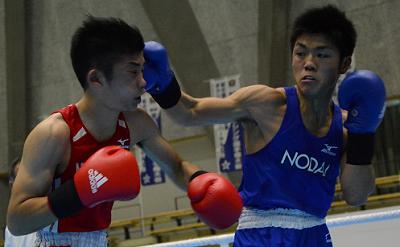 全日本選手権準々決勝(ボクシングニュース)