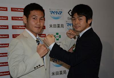 高山勝成vs大平剛でIBF決定戦(ボクシングニュース)