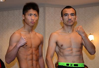 ボクシングフェス2014計量(ボクシングニュース)