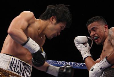 亀海がラスベガスで4回TKO勝ち(ボクシングニュース)