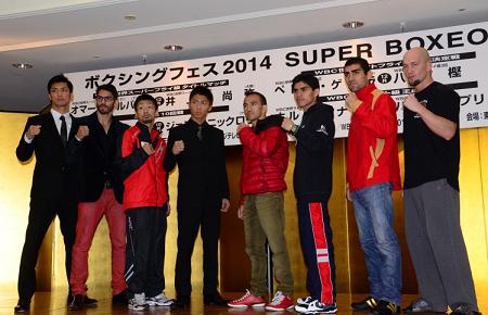 ボクシングフェス2014記者会見(ボクシングニュース)