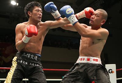 柴田明雄が日本&OPBFタイトル防衛(ボクシングニュース)