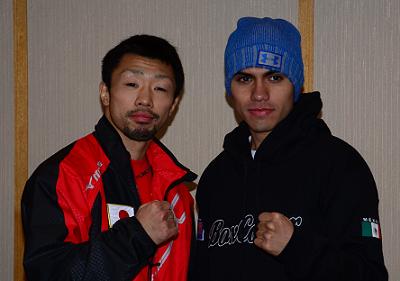八重樫東とホルヘ・リナレスが予備検診(ボクシングニュース)