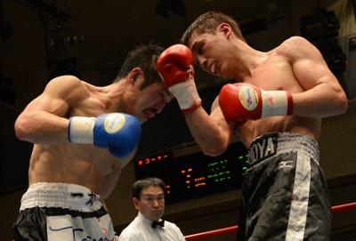 元日本王者の近藤明広敗れる(ボクシングニュース)
