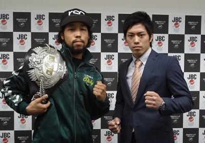 内藤律樹と伊藤雅雪が記者会見(ボクシングニュース)