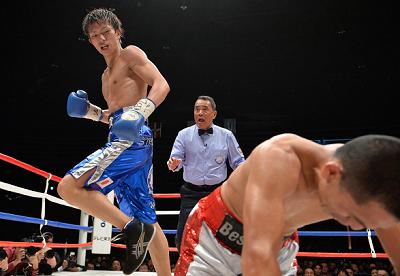 田口良一が新王者に(ボクシングニュース)