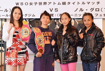 あす大阪女子ダブル世界戦(ボクシングニュース)