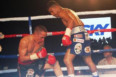 ロマゴン、無冠戦に3回TKO勝ち(ボクシングニュース)