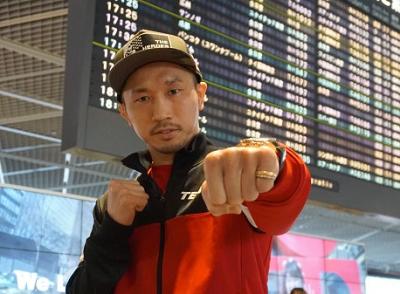 粟生隆寛がラスベガスに出発(ボクシングニュース)