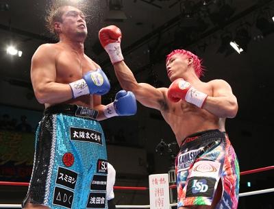 藤本京太郎が石田順裕に判定勝ちでV3(ボクシングニュース)