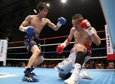 大森将平が日本バンタム級タイトル獲得(ボクシングニュース)