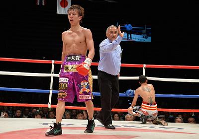 田口良一が初防衛に成功(ボクシングニュース)
