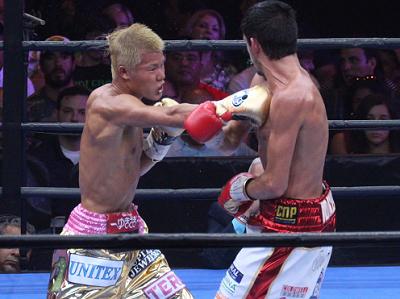 亀田和毅がマクドネルに判定負け(ボクシングニュース)
