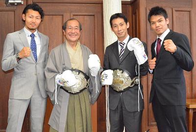 大森、徳永に京都市プロスポーツ特別賞(ボクシングニュース)