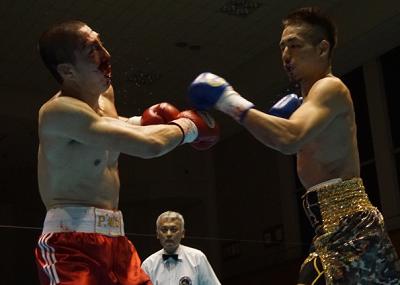 福本祥馬TKO勝ち(ボクシングニュース)