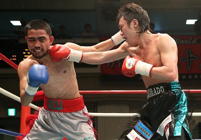 五十嵐俊幸がフィリピン新鋭に勝利(ボクシングニュース)