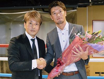 石田順裕が現役引退を表明(ボクシングニュース)