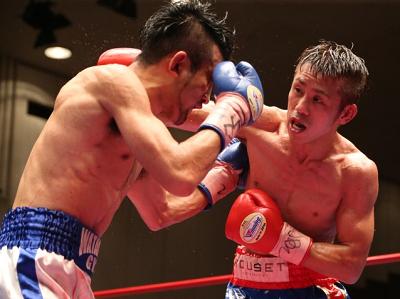 粉川拓也が日本フライ級王座返り咲き(ボクシングニュース)
