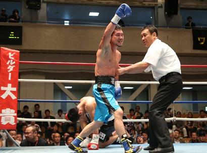 堀川謙一が日本ライトフライ級タイトル獲得(ボクシングニュース)