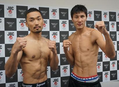日本S・ライト級暫定戦、中澤vs小竹は高校同窓対決(ボクシングニュース)