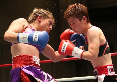 柴田直子が薄氷のドロー防衛(ボクシングニュース)