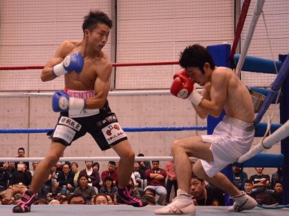 元世界王者の長男、畑中建人が初回TKOプロデビュー